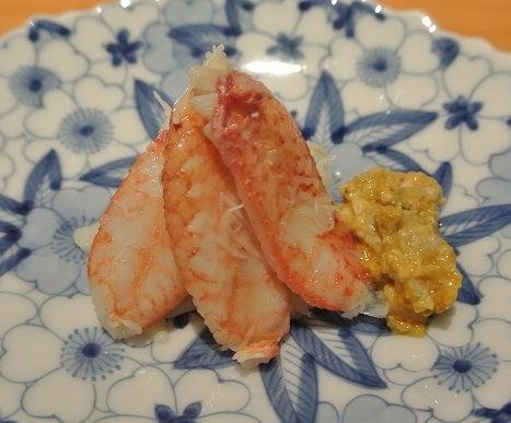 浅草 鮨よしだ 北海道毛蟹