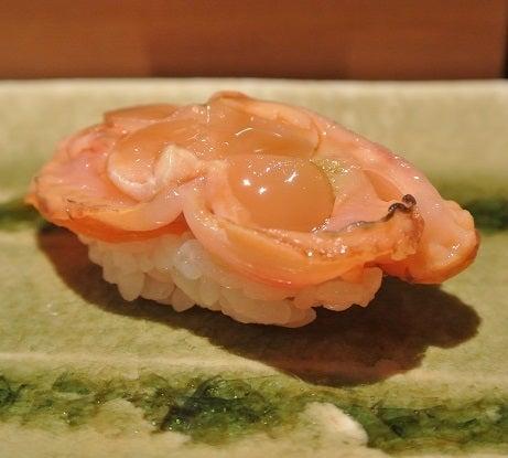 浅草 鮨よしだ 赤貝ひも