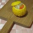 カブの酢の物・柚子を…
