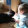 黒猫レオくんと1歳7…