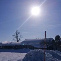 今日はいい天気☀