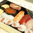 いただきものの寿司折…