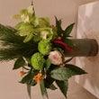 お正月のお花のアレン…