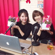 立花姉妹 初のラジオ…
