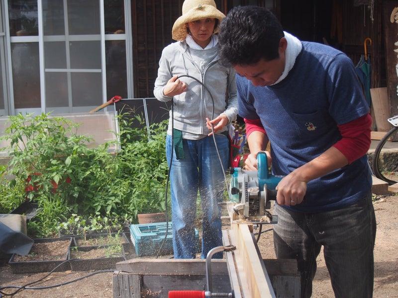 木工 溝掘り
