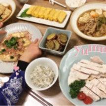 夕飯(╹◡╹)♡