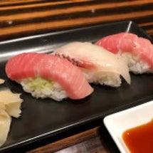 成田空港でお寿司