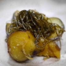 ★ 甘芋昆布の生姜炊…