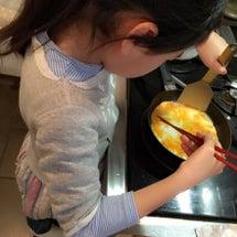 チビ子さん、朝食作り