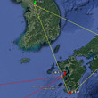 日本と韓国を結ぶ天笠