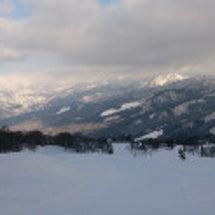 白鳥高原スキ~ 雪…