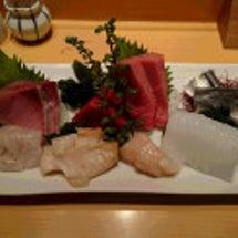 水曜日は銀座のお寿司…