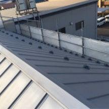 屋根の研磨