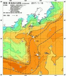 19日の海水温