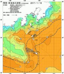 18日の海水温