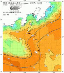 20日の海水温