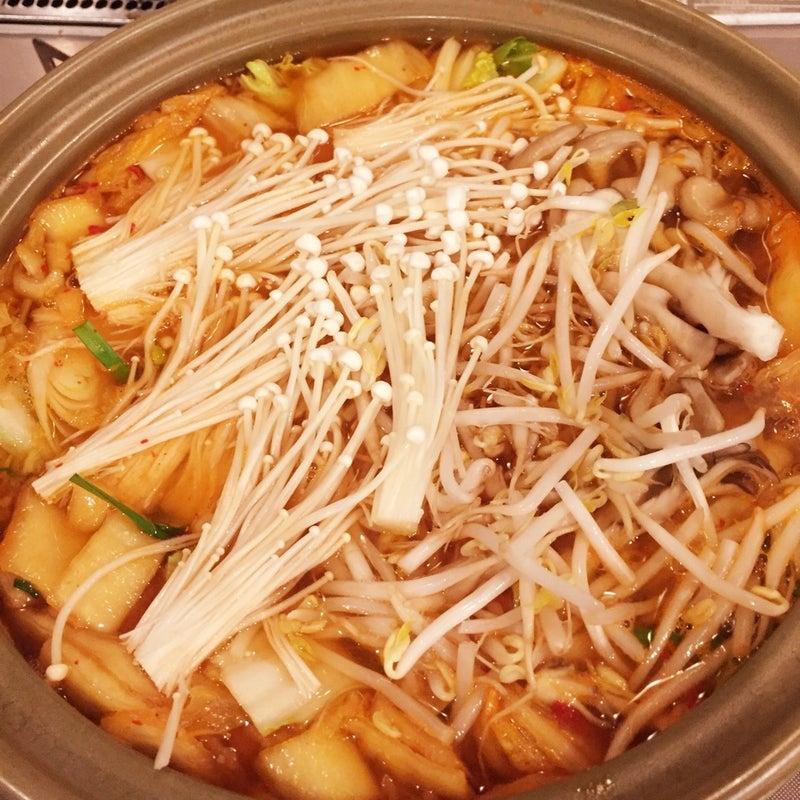 野菜たっぷりキムチ鍋ラーメン