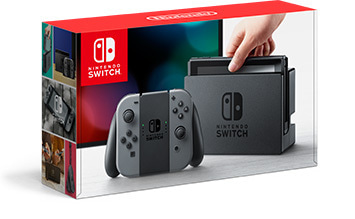 Nintendo Switch Joy-Con グレー