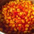 お豆のトマト煮込みは…