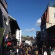 成田山に途中下車。