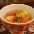 トマトと玉子のスープ…