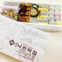 韓国の有名もち店