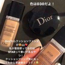 Diorのファンデー…