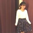 OW*花柄スカート