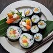 太巻き寿司を作る。