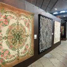 布と糸の芸術…展示作…