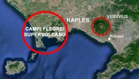イタリア火山