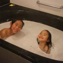 我が家のお風呂タイム…