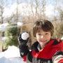 初雪遊び️ZeBRA…