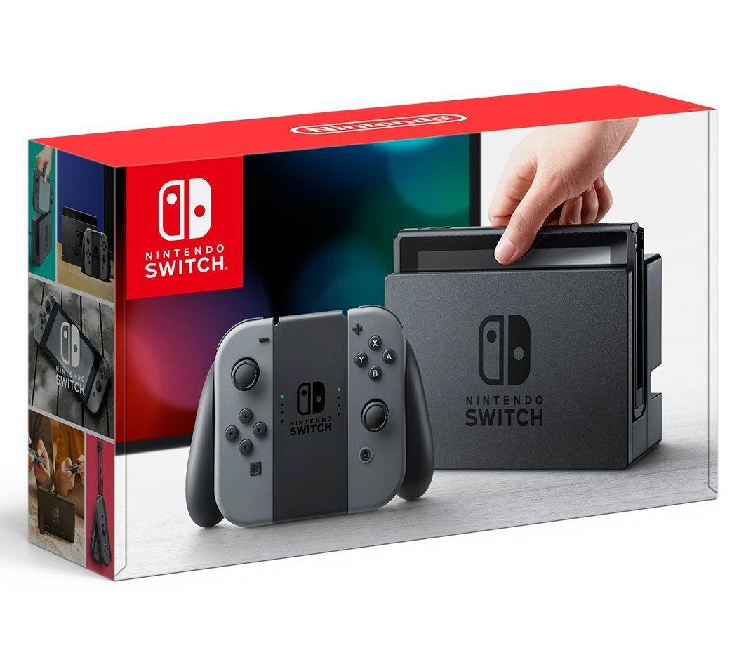 Nintendo Switch Joy-Con グレー