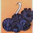 黒の5連花コサージュ