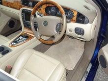 ジャガー XJ8 3.5 運転席