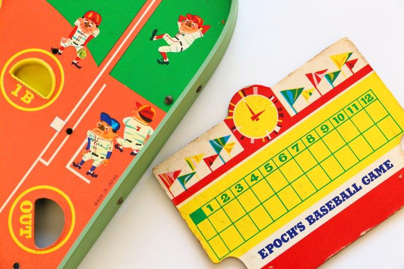 エポック社の野球盤ポピュラーC型(1960年)