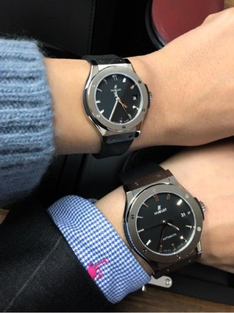 newest 9533e c3396 ペアでHUBLOTの時計 | ラブリランテのブログ