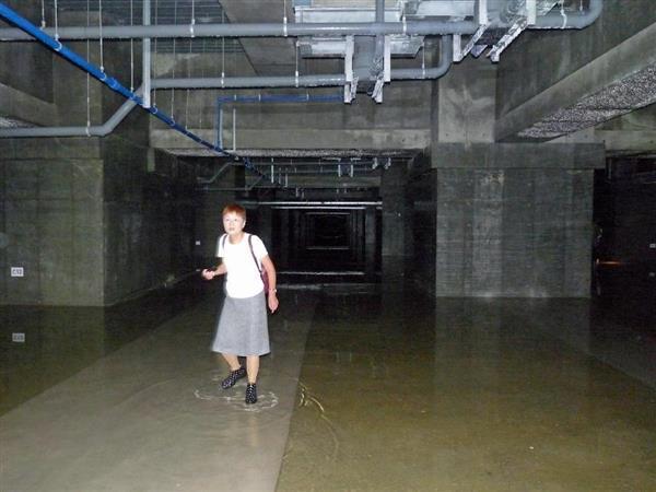 豊洲 地下空間