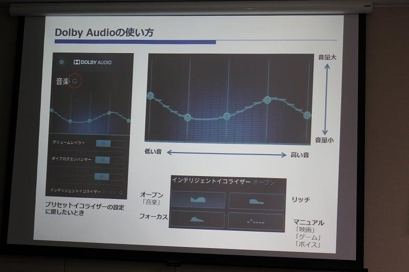 Dolby Audioの使い方3