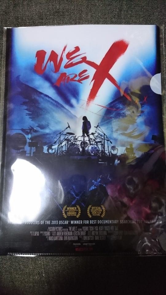 WE ARE X!! (映画前売り特典)