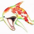 【イラスト】錦イルカ…