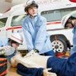 救急救命士訓練生に向…