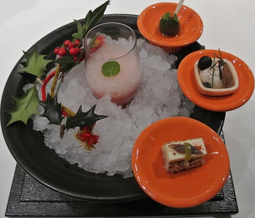 ナベノイズム東京 前菜盆