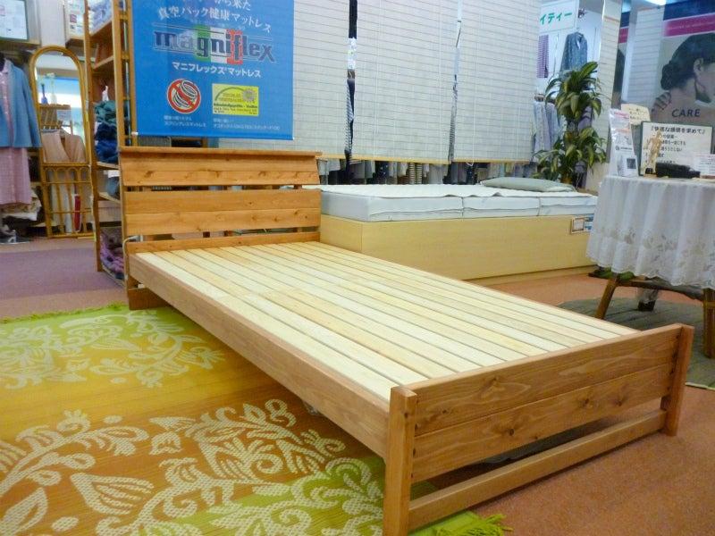アルタイルひのき無垢材ベッド9