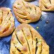 葉っぱの形のパン
