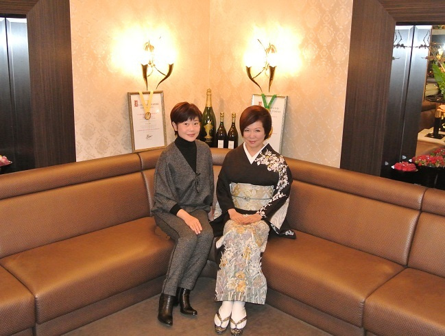 銀座クラブ由美 神野美伽さん&伊藤由美ママ2