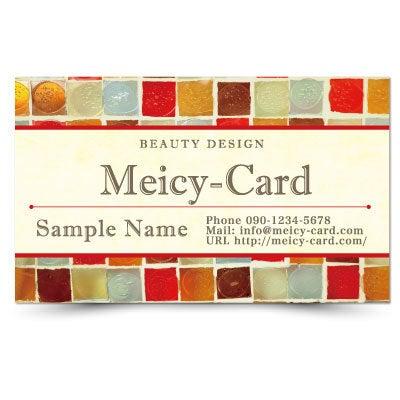 エステ名刺,エステポイントカード,ネイルメンバーズカード,美容室スタンプカード,可愛い次回ご予約カード,おしゃれな個人名刺印刷