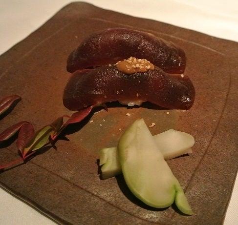 HAL YAMASHITA東京 鮪の漬け握り寿司2