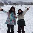 本日の雪山ガール